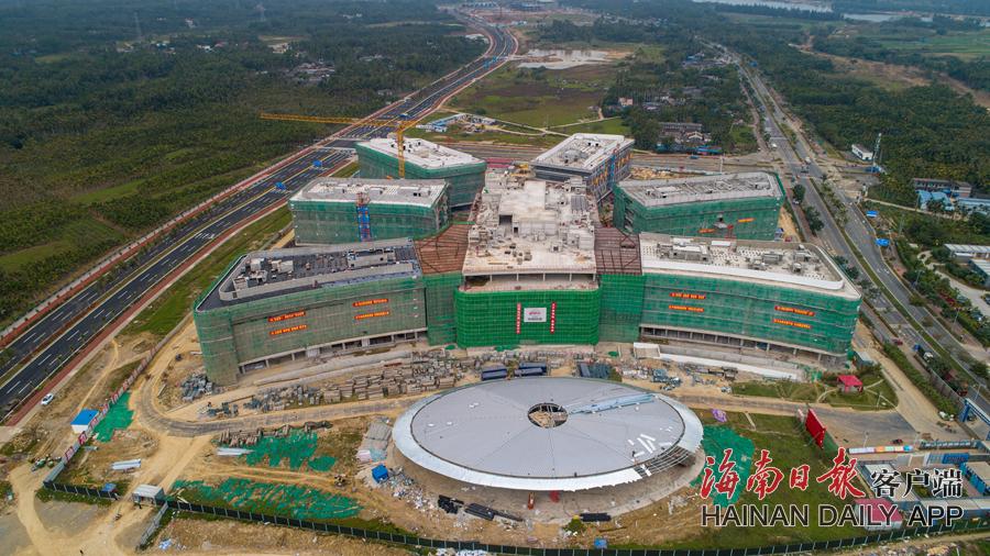 博鳌研究型医院项目将于年底竣工