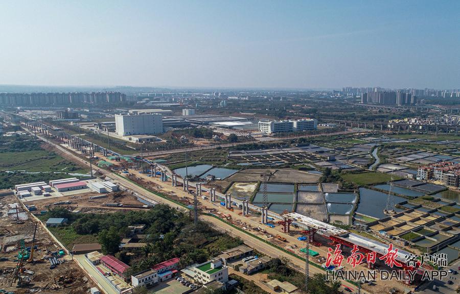 G15沈海高速公路海口段加快建设